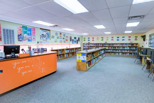 Grand Junction Elementary School Library