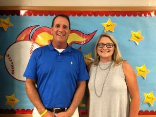 Principal Ted Kessler and Asst Principal Julie Walton