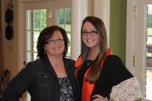 Mrs. Beth and Kaitlin
