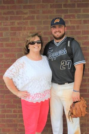 Mrs. Beth and her son Jamie