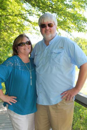 Mrs. Beth and her husband, Tim