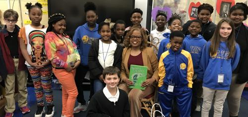 Community Stakeholders Support Reading at WES