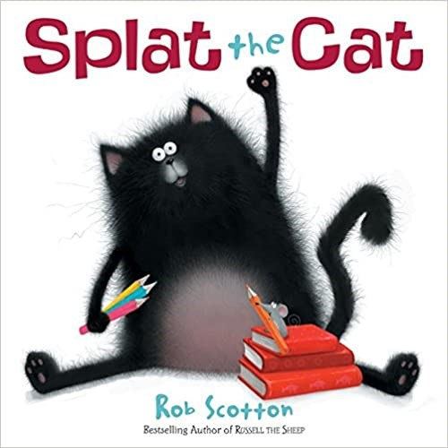 Splat the Cat First Day of School
