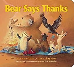 Bear Gives Thanks