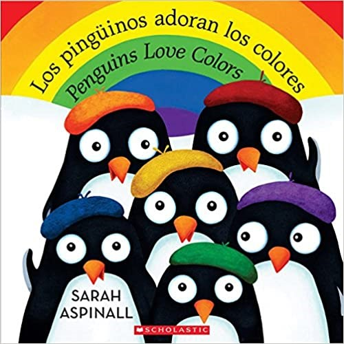 Penguins Love Colors in Spanish