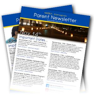 Parent newsletter link