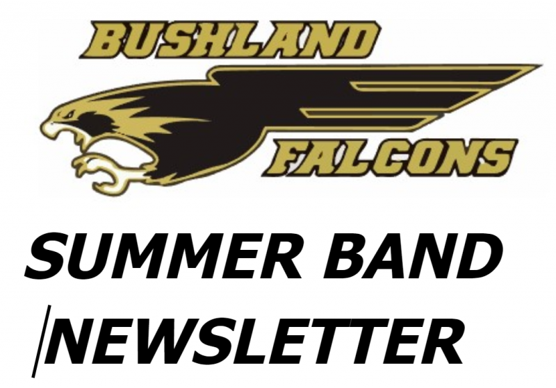 SUMMER BAND INFORMATION