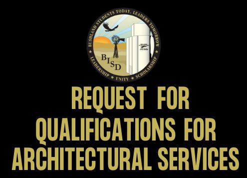 RFQ Architectural Services