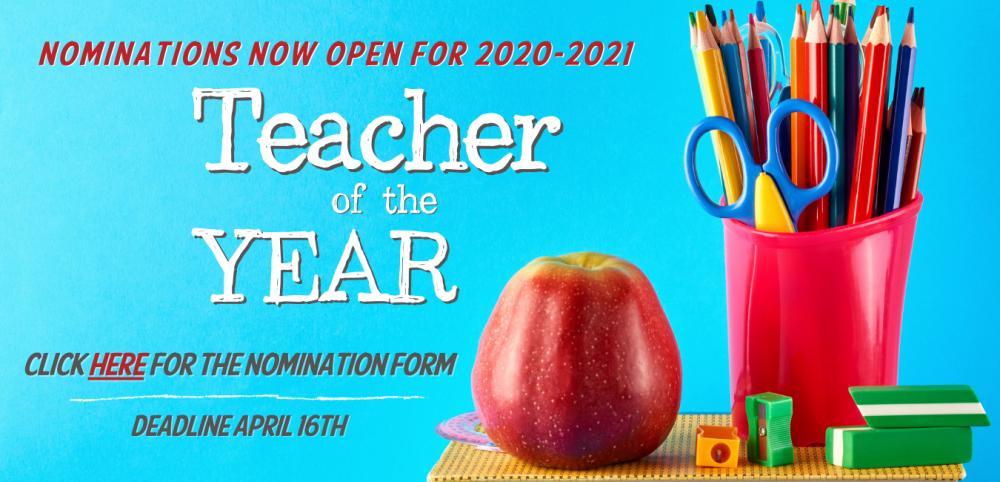20-21 Teacher of the Year Nominations