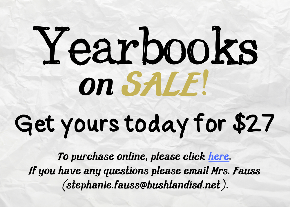 19-20 Yearbook purchase