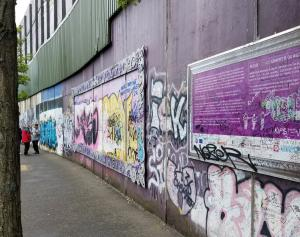 The Peace Wall-Belfast, Northern Ireland
