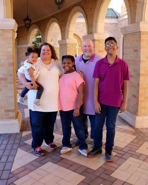 my family and three kids