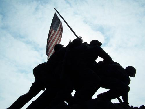 Picture I took of the Iwo Jima Memorial in Washington D.C.