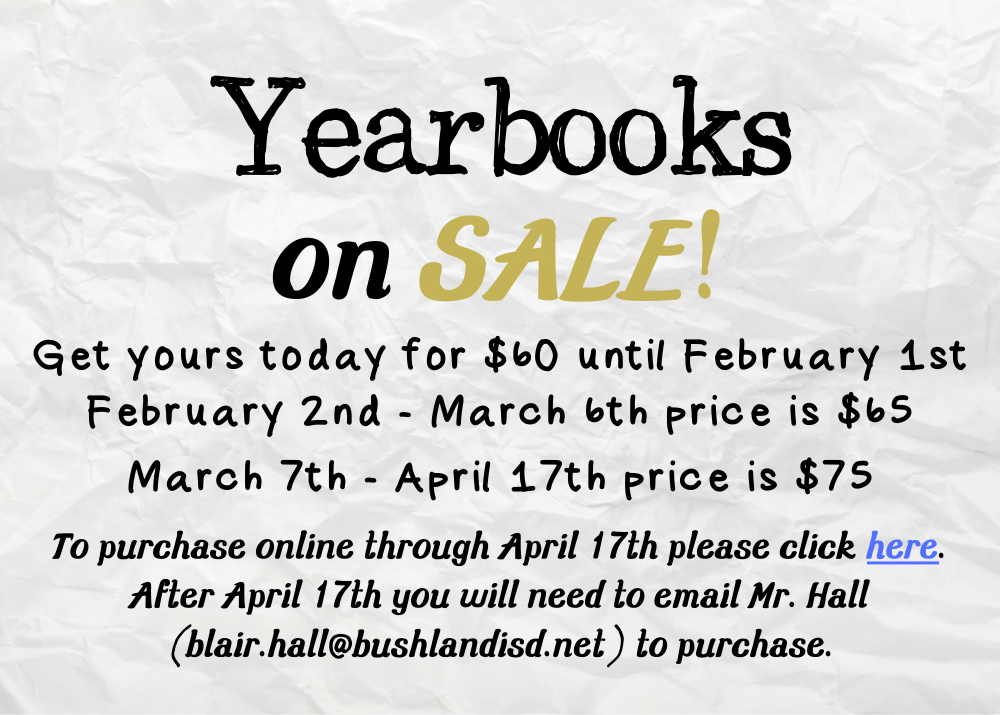 High School Yearbooks on Sale