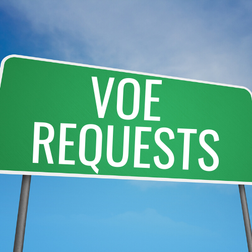 VOE Requests