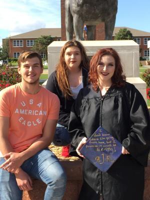 Aaron, Ashley and Amanda