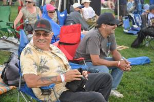 Dad at a Jazz Festival