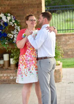 My son Tyler and I - Mother Son Dance