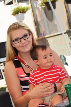 Erin and my nephew