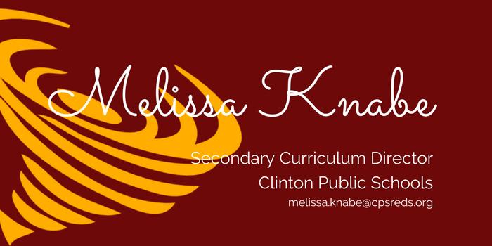 Clinton Public Schools Melissa Knabe Director Of Secondary