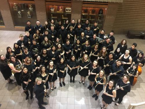 2018 Wind Ensemble District Contest
