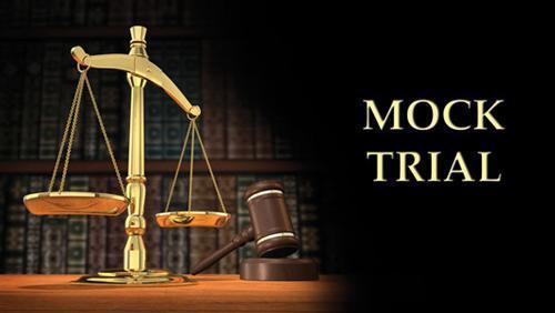 Mock Trial photo.