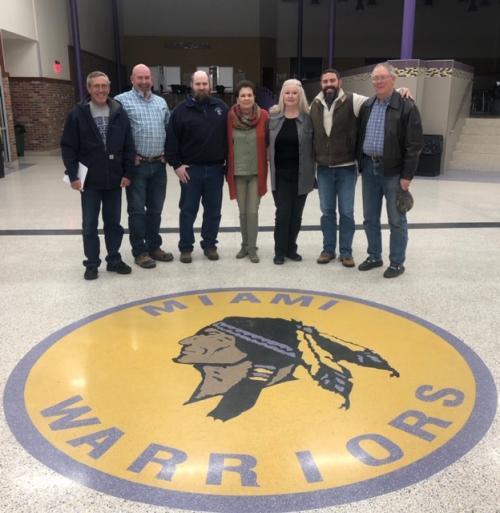 School Board Members Group Picture