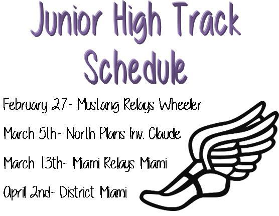 JH Track Schedule