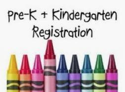 Pre-K & Kindergarten Registration Information