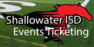 Shallowater Events Ticketing