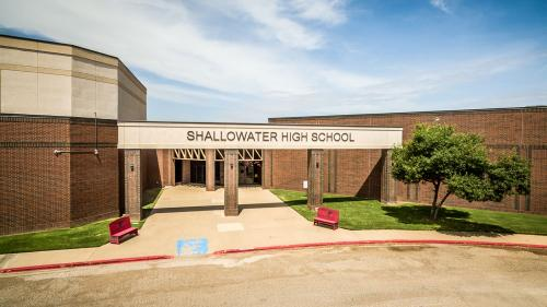 Shallowater High School Entrance
