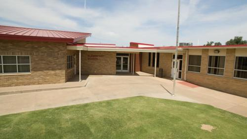 Shallowater Elementary Entrance