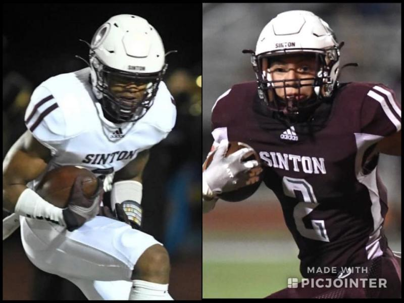 Two Sinton High School Pirates chosen for CBC All-Star Football Game