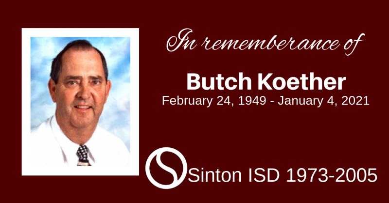 Condolences to the Koether Family