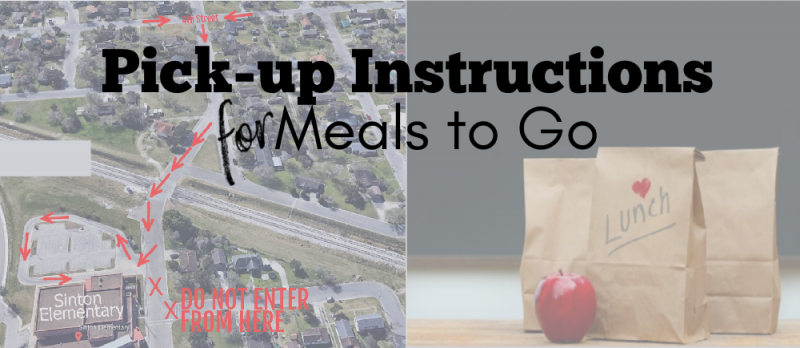 Meals To Go Pick-up Route