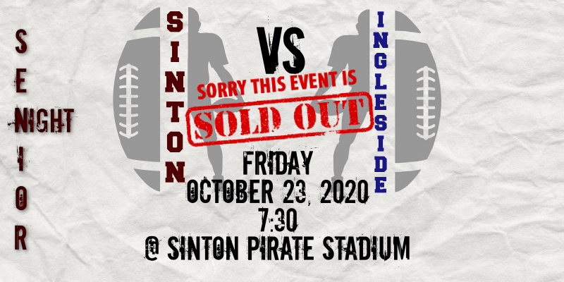 10/23 Ingleside @ Sinton ** SOLD OUT **