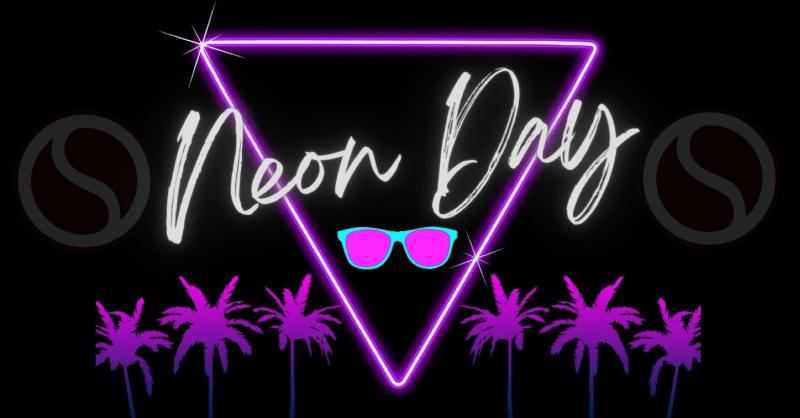Neon Day will be Thursday, October 14