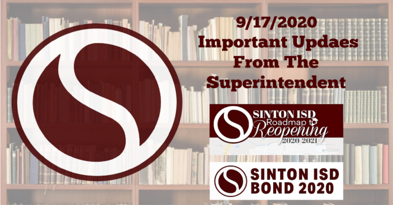 9/17 Message from the Superintendent