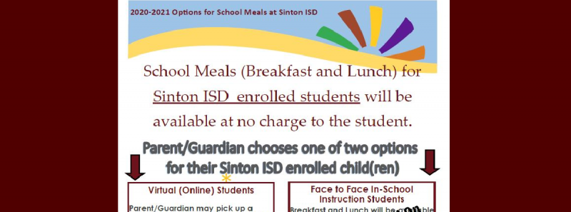 Meals During Remote Learning