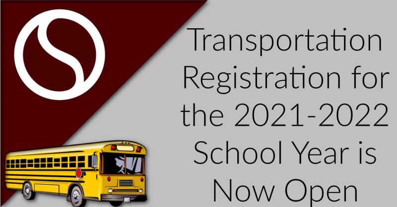 Transportation Registration for 2021-2022