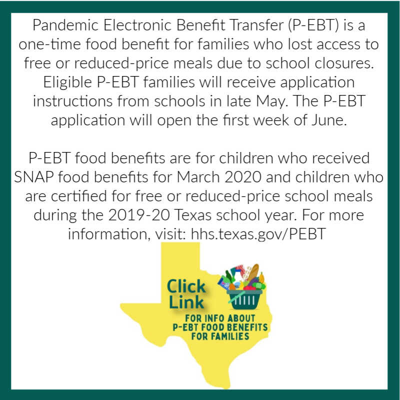 Pandemic Electronic Benefits Transfer (P-EBT)