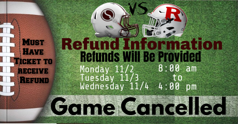 10/30 Sinton @ Robstown * Game Cancelled *