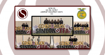 Sinton FFA District Leadership Development Event Results