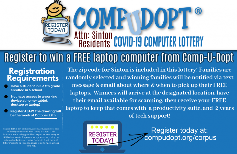 Laptop Computer Lottery