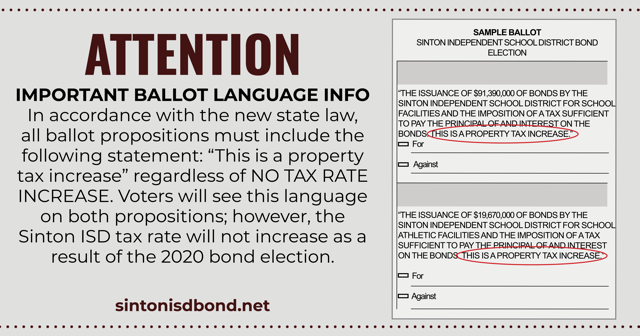 Bond Ballot Language Info