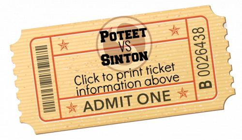 Print Football Ticket Information