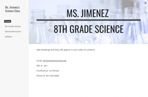 Click for 8th Grade Science