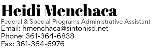 Heidi Menchaca Info