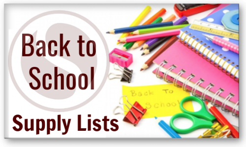 Link to School Supply Lists