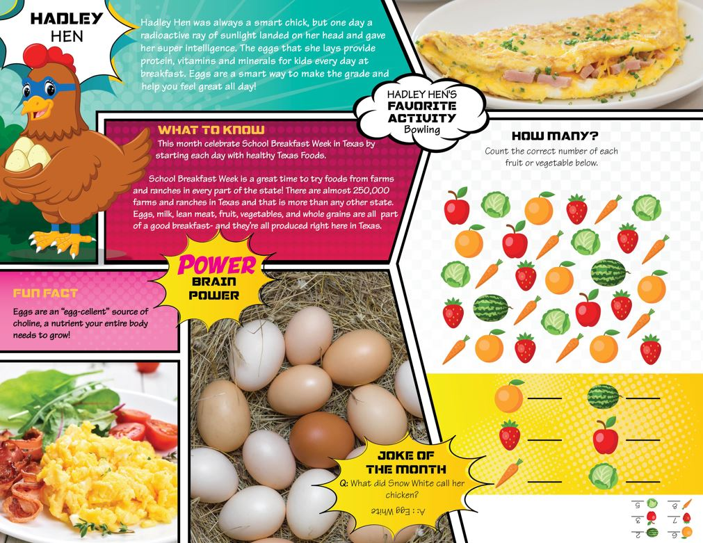 Nutrition Activity Page